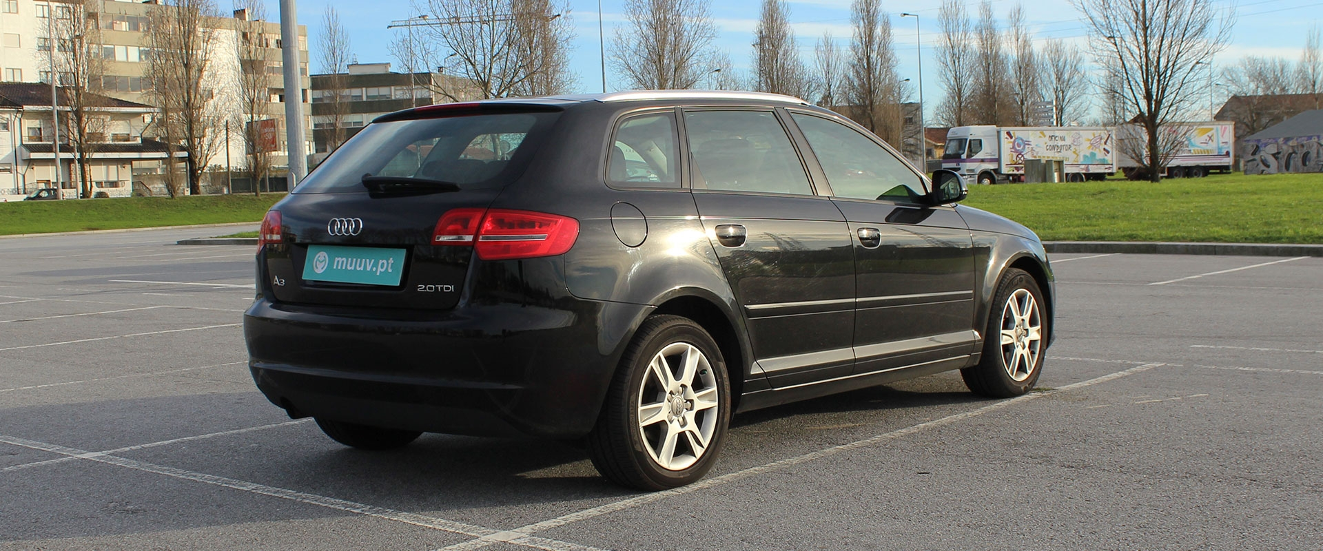 Audi A3 Sportback 2.0 TDi Attraction